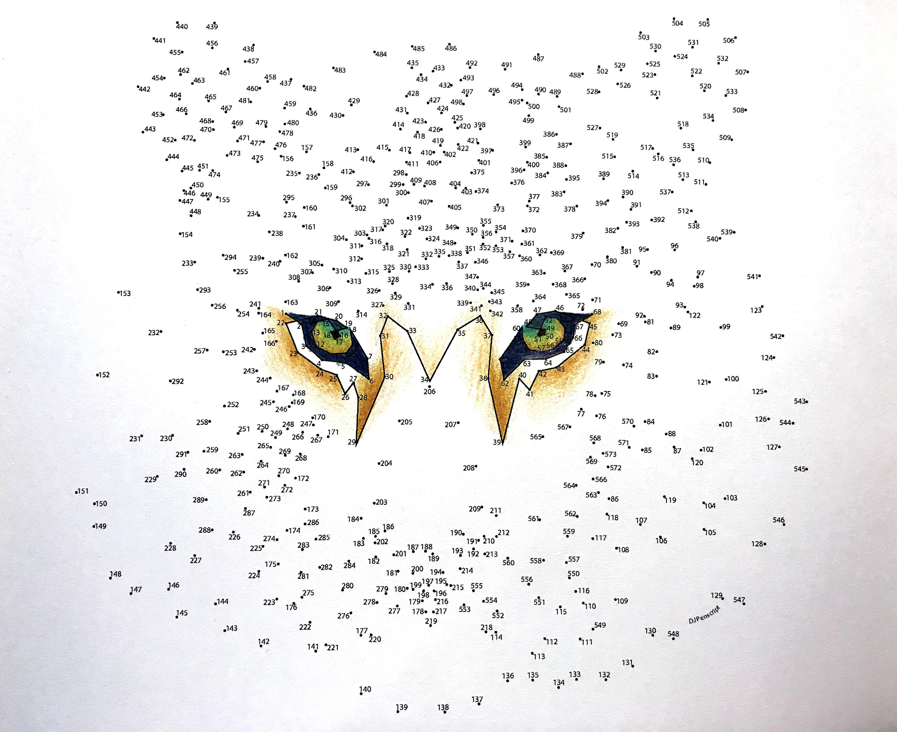 - Tiger – Extreme Dot To Dot – PDF Activity And Coloring Page